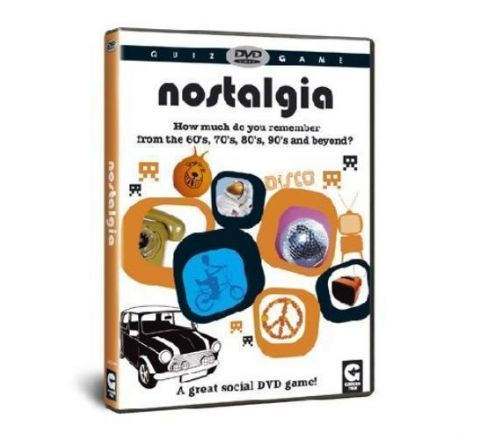 Quiz DVD game NOSTALGIA what do you remember from the 60's, 70's, 80's and beyond