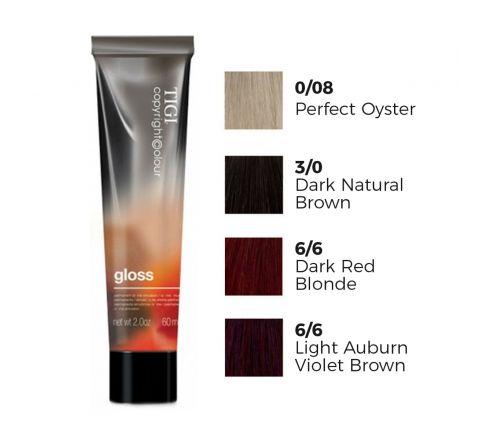 TIGI Copyright Colour Gloss Demi Semi Permanent Hair Dye Cream
