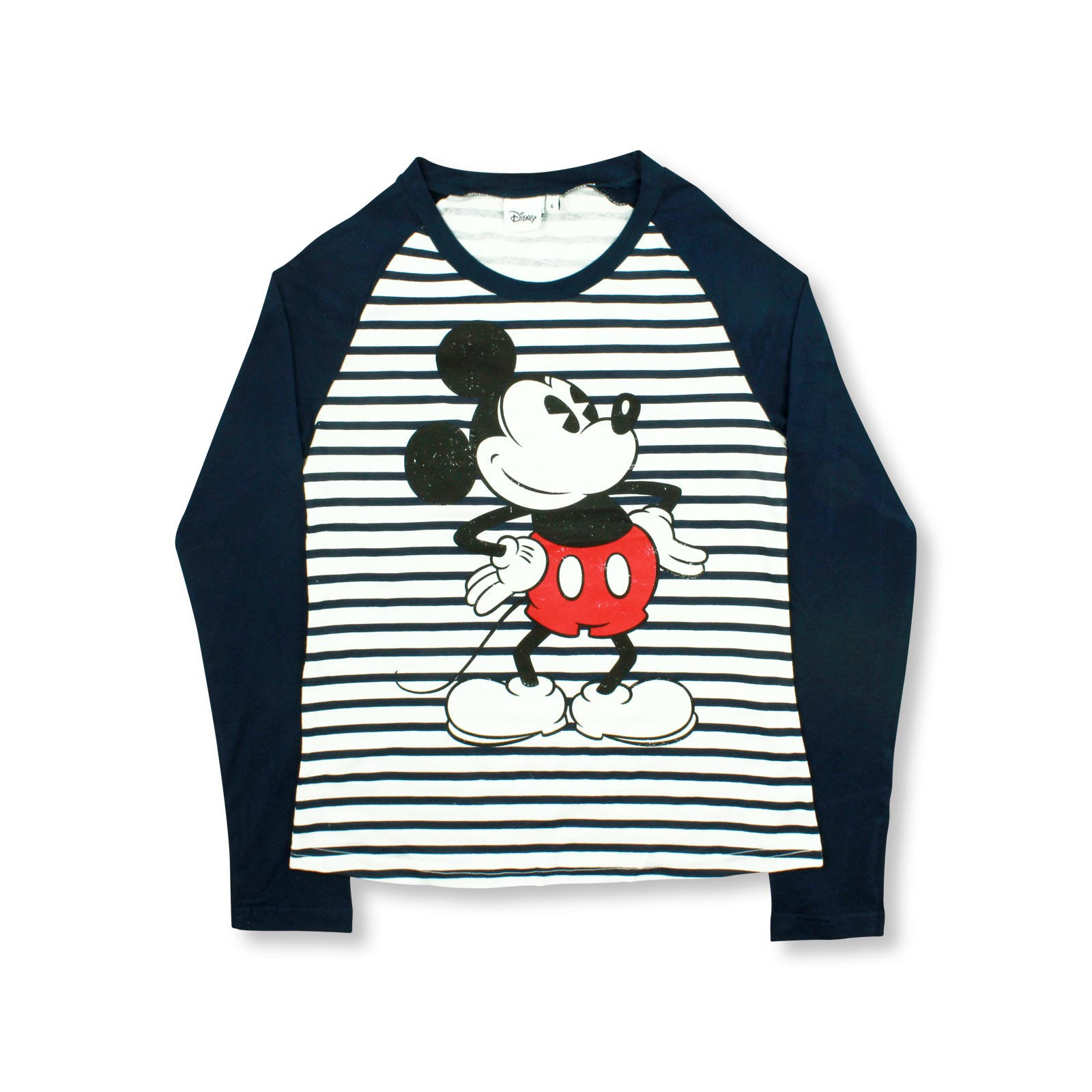 f943f40b42550 Details about DISNEY Ladies Womens Mickey Mouse T Shirts Character Tops  Long Sleeve Size 6-20