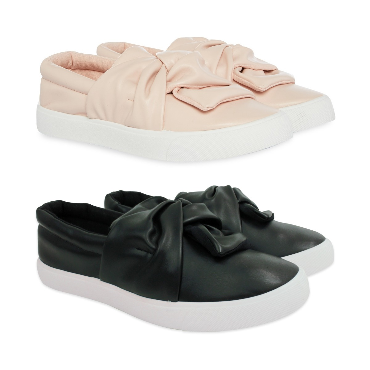 971e8dd6c ... Girls pink pumps and girls black pumps with bow detail to the front  available in sizes