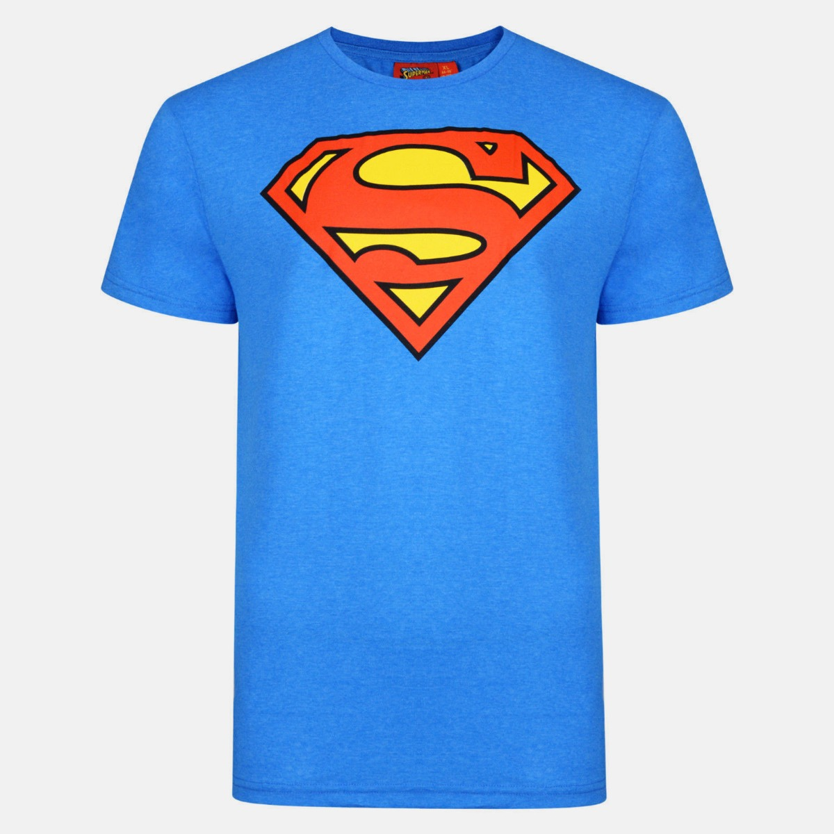 Mens Superman Logo T-shirt DC Comics Movie Superhero Quality Printed T-shirts