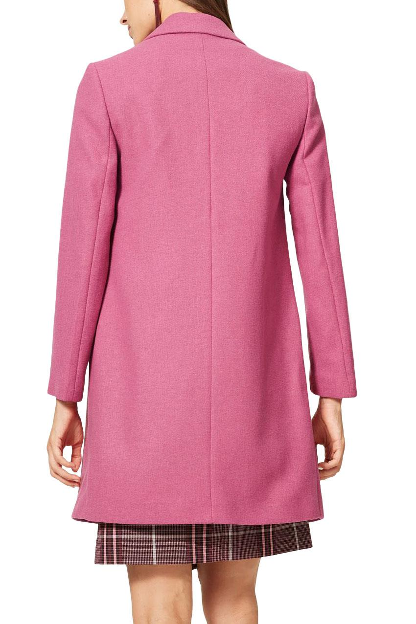 M-amp-S-Wool-Blend-Single-Breasted-Pink-Brown-Winter-Coat-Holly-Willoughby-Size-6-24 thumbnail 38