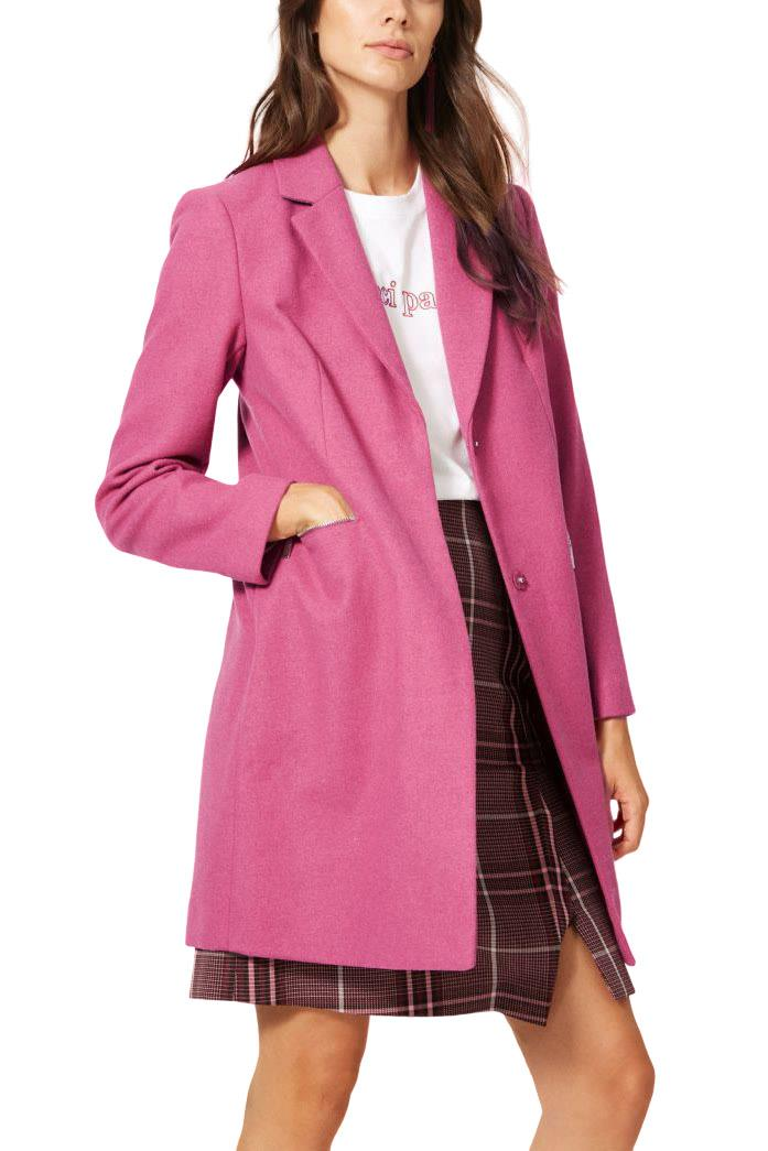 M-amp-S-Wool-Blend-Single-Breasted-Pink-Brown-Winter-Coat-Holly-Willoughby-Size-6-24 thumbnail 43