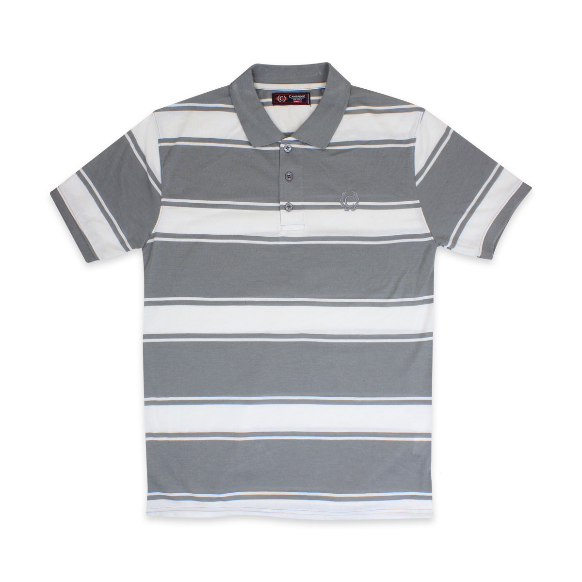 Camisas-Polo-Para-Hombre-A-Rayas-Pique-Con-Cuello-camiseta-Camiseta-Manga-Corta-De-Verano-S-M-L-XL miniatura 60