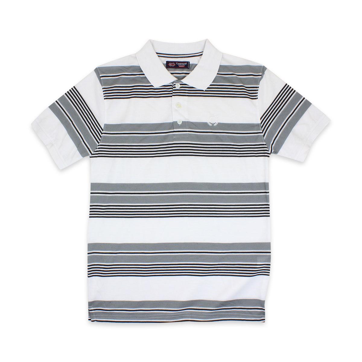 Camisas-Polo-Para-Hombre-A-Rayas-Pique-Con-Cuello-camiseta-Camiseta-Manga-Corta-De-Verano-S-M-L-XL miniatura 70