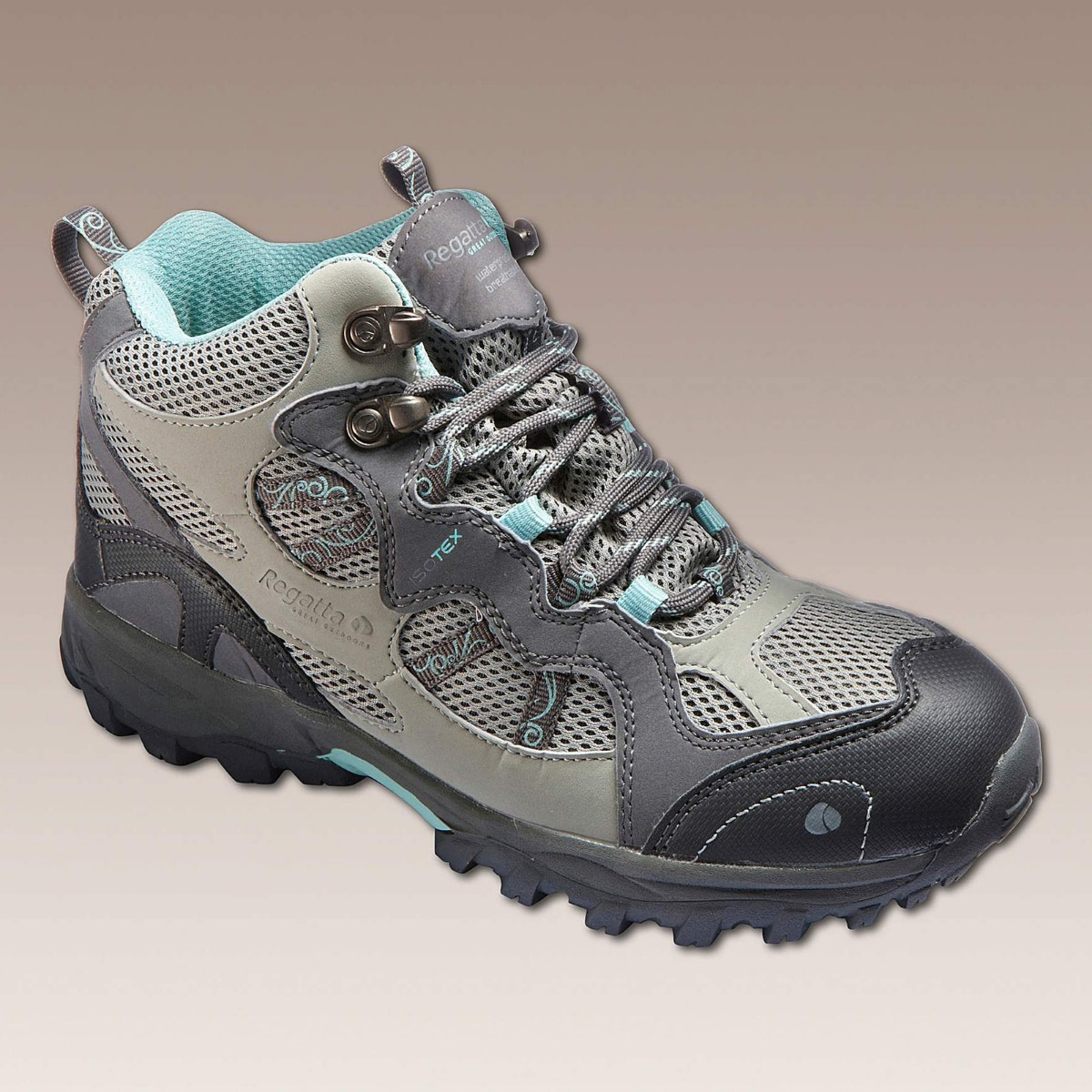ba5c673a89000f REGATTA Ladies Womens Walking Hiking Boots Shoes Waterproof Size 3 ...