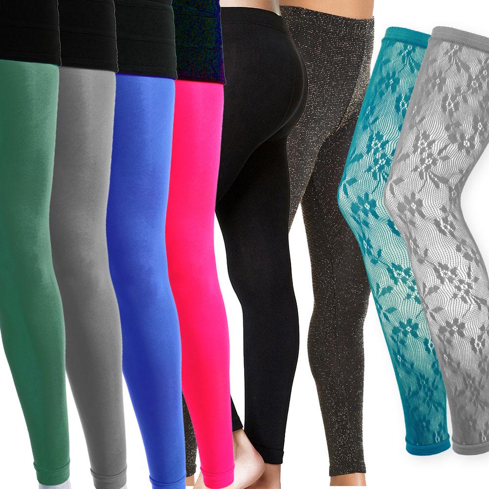 Dance Gear FLST Women/'s Printed Footless Tights