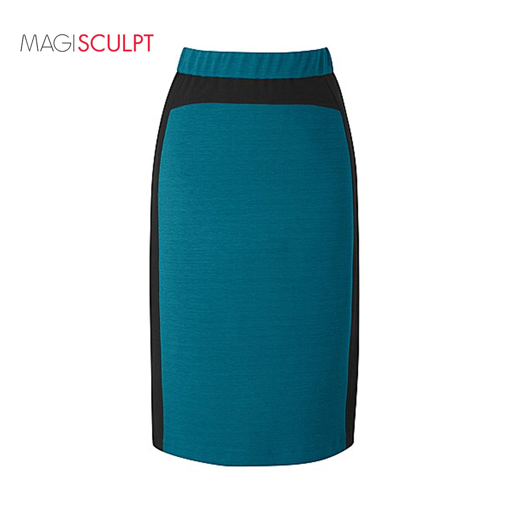 dc4baf00e1 MAGISCULPT Womens Work Pencil Skirt MIDI Office Bodycon Stretch Size ...