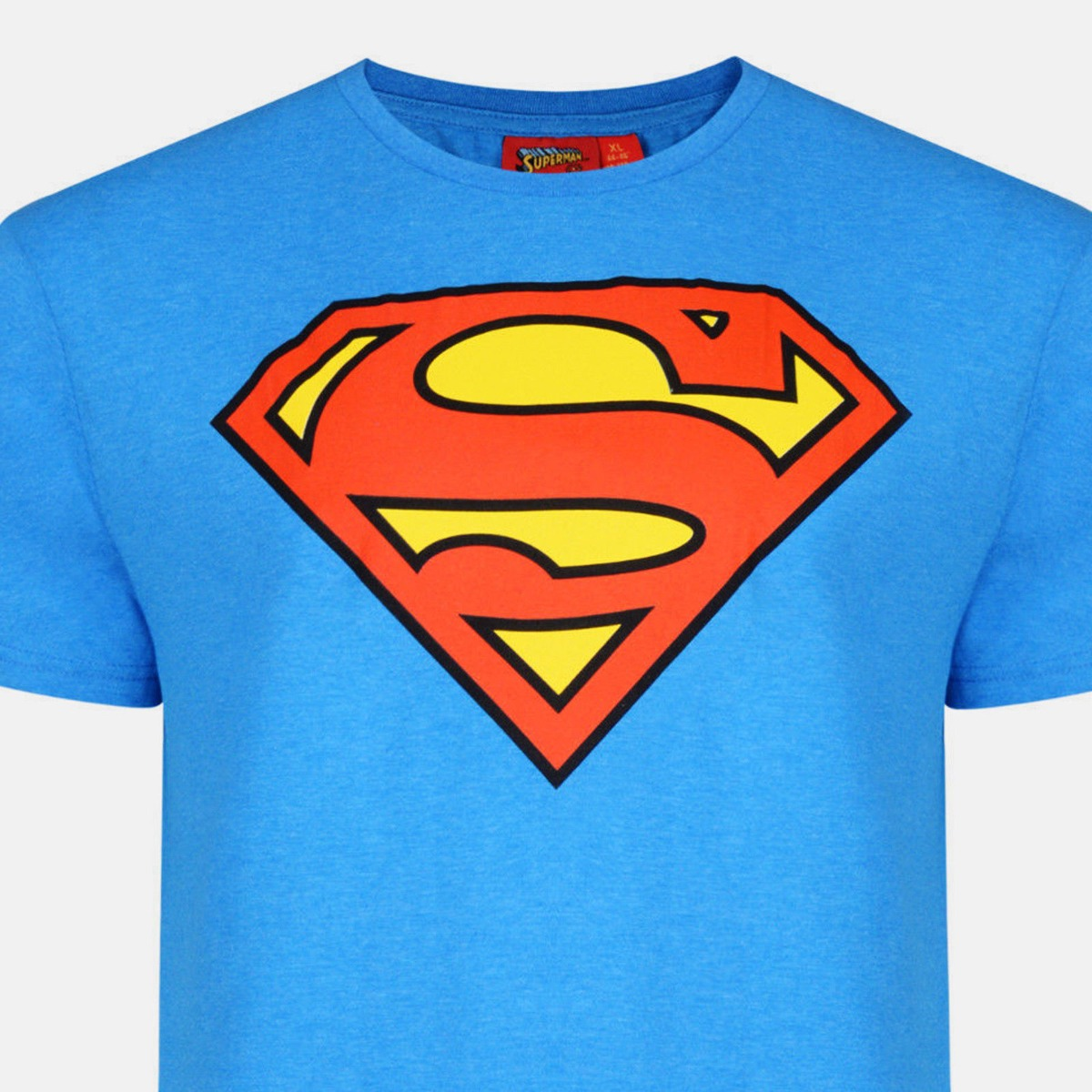 Official-Mens-Superman-T-Shirt-DC-Comic-Tee-Top-Superhero-Logo-Slim-Fit-XS-2XL miniatura 10